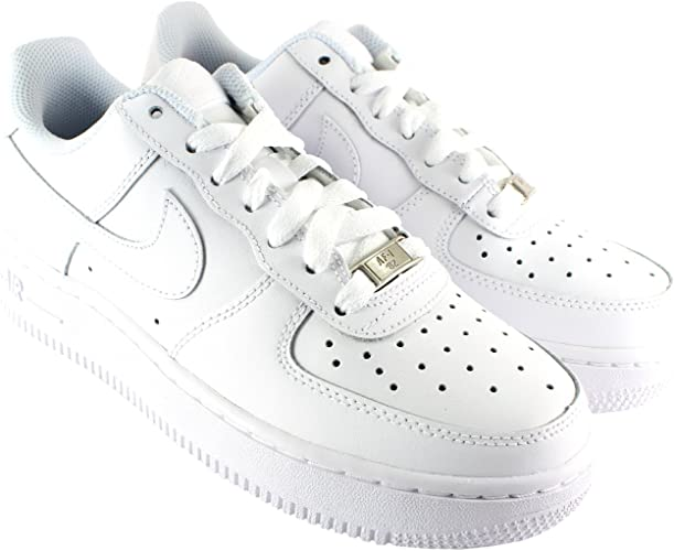 Nike Damen Schuhe Air Force 1 Low Profile Leder Schnürsenkel ...