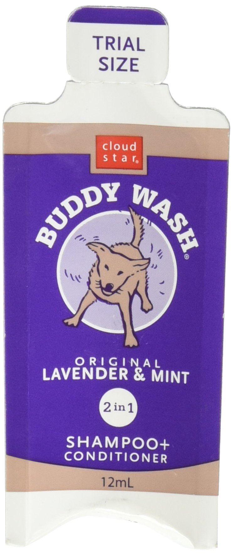 Cloud Star Dog Supplies Buddy Wash Samples Lavender/Mint by Cloud Star