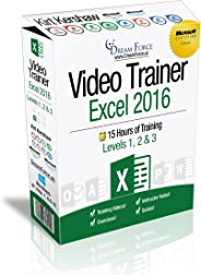 Excel 2016 Training Videos – 15 Hours of Excel 2016 training by Microsoft Office: Specialist, Expert and Master, and Microso
