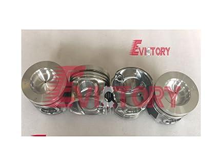 Amazon com: For ISUZU TRUCK 4JJ1-T 4JJ1 head gasket + piston ring +