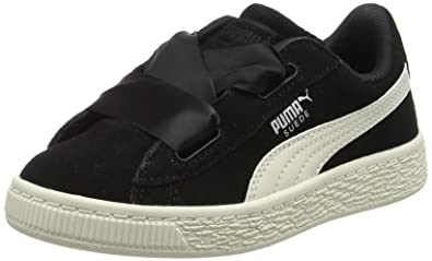 ecead68eb8d2 Puma Girls  Suede Heart Jewel Ps Trainers  Amazon.co.uk  Shoes   Bags