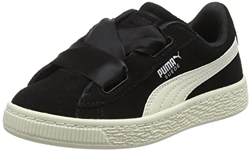 Puma Suede Heart Jewel PS, Zapatillas para Niñas: Amazon.es: Zapatos y complementos