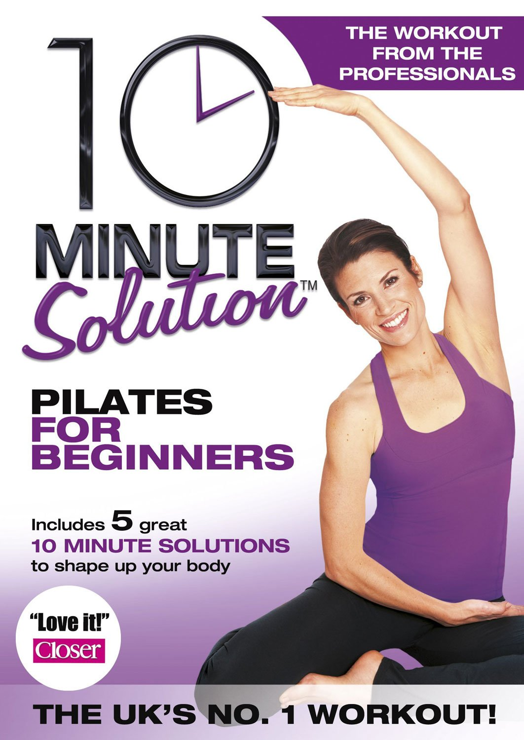 10 Minute Solution - Pilates For Beginners DVD Reino Unido ...