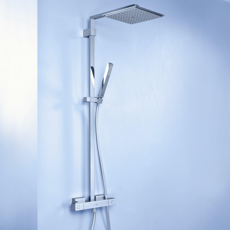 grohe euphoria cube abdeckung ablauf dusche. Black Bedroom Furniture Sets. Home Design Ideas