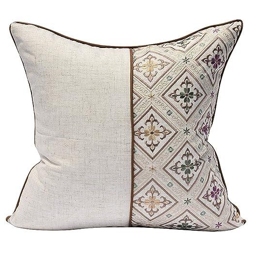 MIAOLIDP Almohada de Hotel por el algodón, algodón, Blanco ...