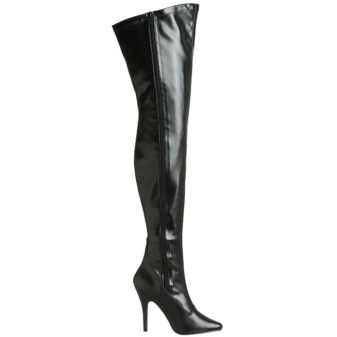 Pleaser usa shoes - SEDUCE-3000 Couleur - Noir Mat, Pointure - 38