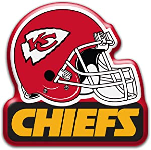 "aminco NFL Kansas City Chiefs 3"" Heavy Duty Helmet Magnet"