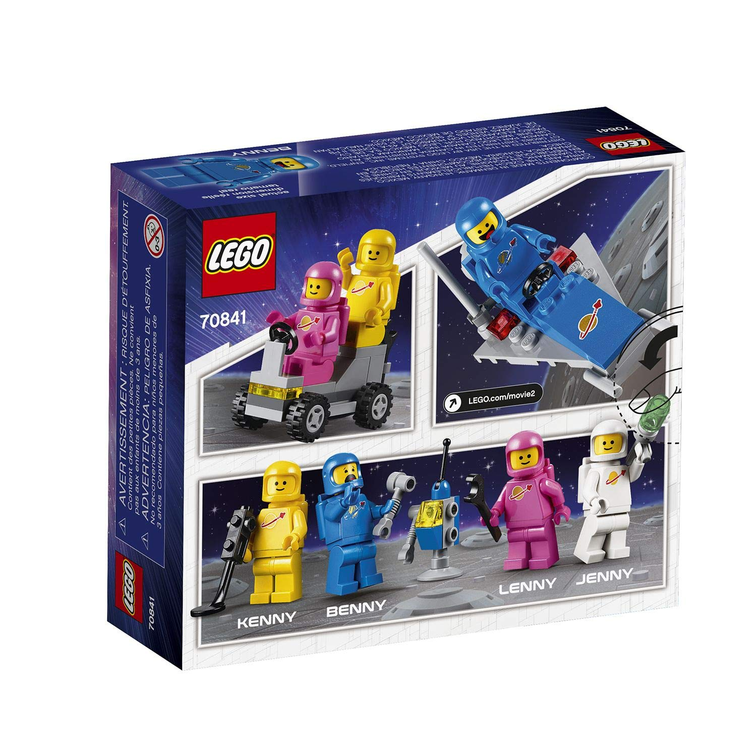 LEGO 70841 BENNY SPACE SQUAD NO FIGURES.BRAND NEW