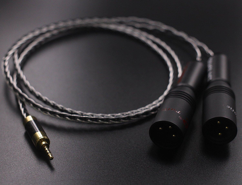 Amazon.com: P2.5-M2 HIFI Hi End 2.5mm TRRS Balanced Male to 2 XLR ...