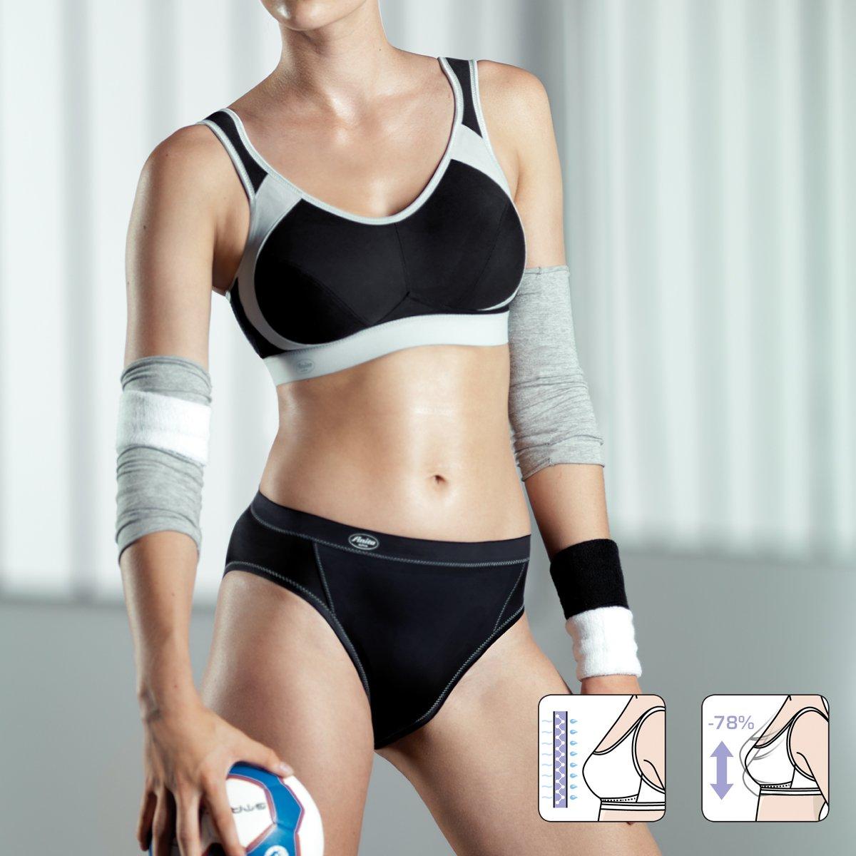 Anita Womens Plus Size Extreme Control Sport Bra White Anita Women/'s Plus Size Extreme Control Sport Bra White 5527