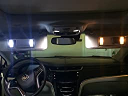 Vanity Planet Led Light Review : Amazon.com: Customer reviews: iJDMTOY (4) 3-SMD 29mm 6614F LED Replacement Bulbs For Car Sun ...