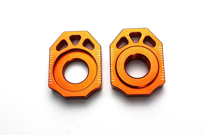 Axle Block Chain Adjuster For KTM SX SXF XC XCF 125 250 350 450 530 13 14 15 16 Yongkang cylinder co. ltd