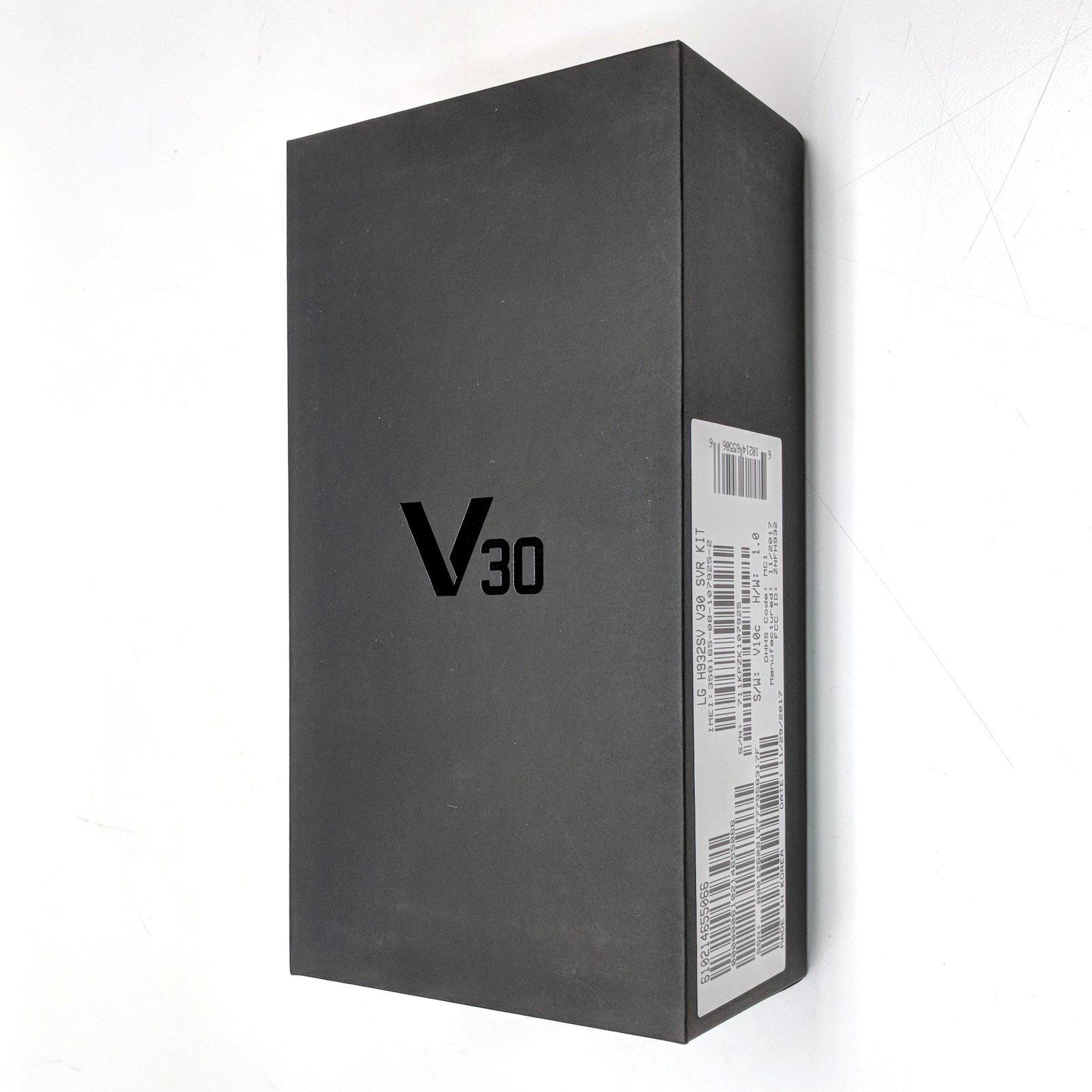 LG V30 H932 Dual Camera 4G LTE 64GB Silver (T-Mobile)