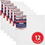 US Art Supply 10 X 10 inch Professional Quality Acid Free Stretched Canvas 6-Pack - 3/4 Profile 12 Ounce Primed Gesso - (1 Full Case of 6 Single Canvases)