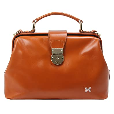 5d4ad6ba05be Metrocity Josephine Leather C Frame (Brown): Handbags: Amazon.com