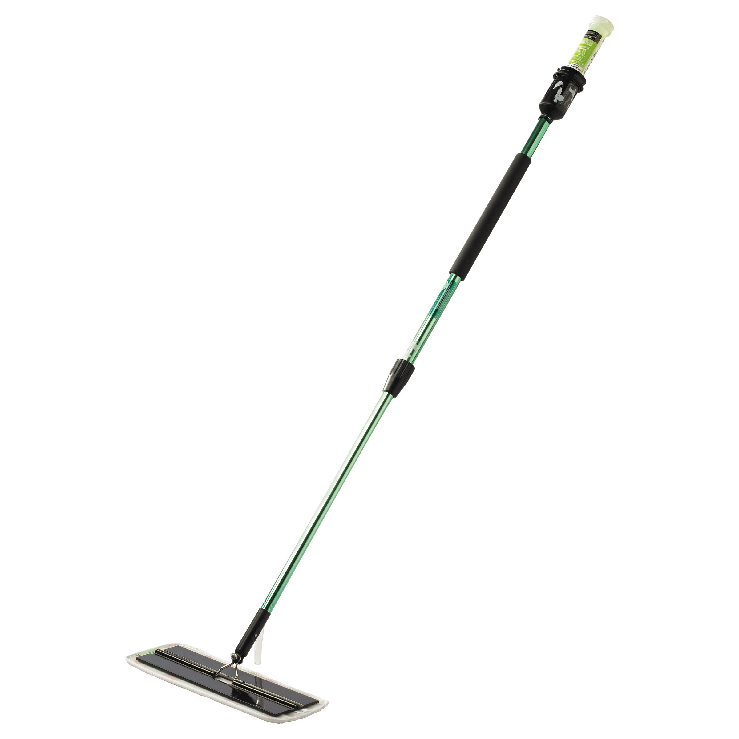 3M 59051 Easy Scrub Express Flat Mop Tool with 16'' Pad Holder, High-Gloss Green by 3M