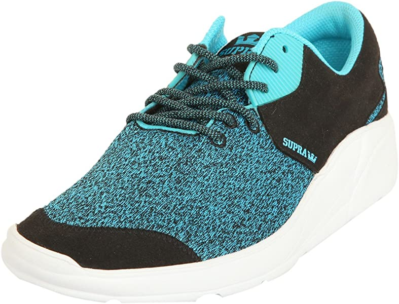 ccd89114f234 Supra Noiz Size 7.5 Black Blue Atoll - White Skate Shoes