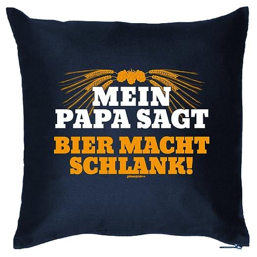 Coole - Cojín decorativo (Tema cerveza: Mein/MI PAPA Dice ...