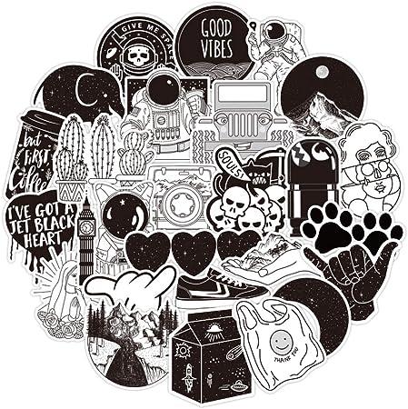 LOVE Agates Stickers White  Black Vinyl Die Cut Stickers UV Water Resistant!