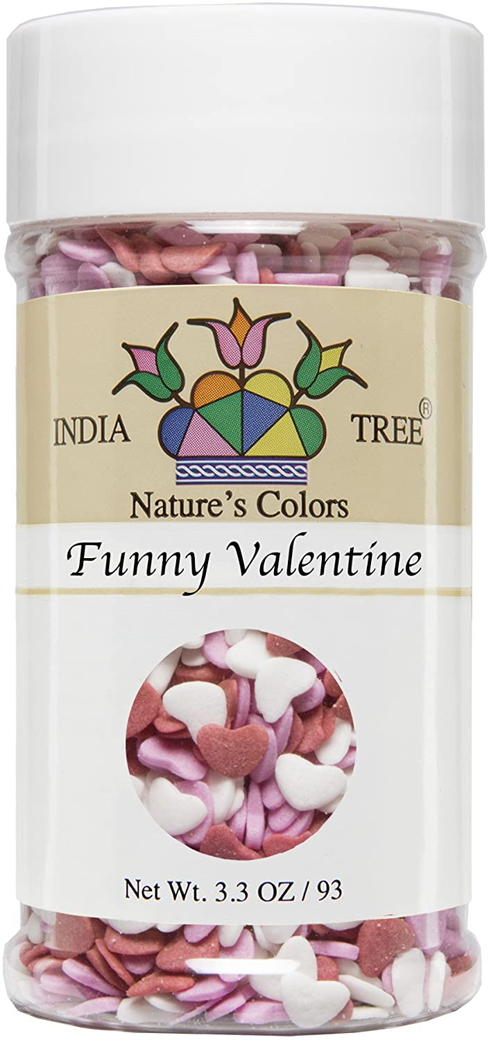 India Tree Nature's Colors Funny Valentine Decoratifs Jar, 2.3 Ounce