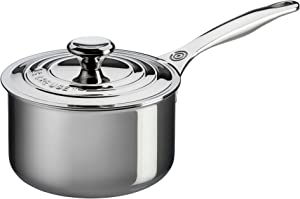 Le-Creuset-SSP1100-16-Tri-Ply-Stainless-Steel-Saucepan-with-Lid