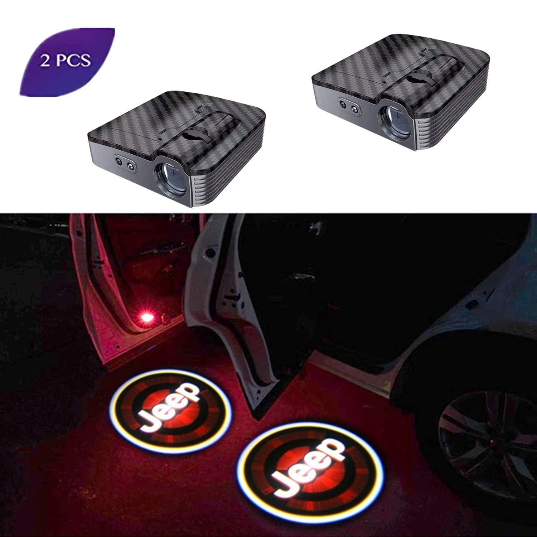 2 Pack LED Car Projector Logo Spirit Shadow Light Door Lighting Welcome Lamp Wireless Laser Projector Logo Light Compatible for Lexus Car Door Logo Light