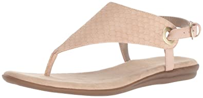 3857044a2ccc Aerosoles Women s Conchlusion Sandal Pink Snake 6.5 ...