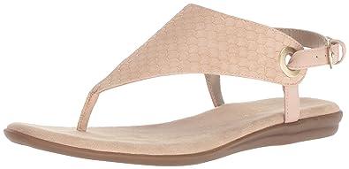 9872e5c9c Aerosoles Women s Conchlusion Sandal Pink Snake 6.5 ...