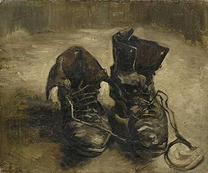 JH Lacrocon Van Gogh Un Paio di Scarpe 2 Riproduzioni