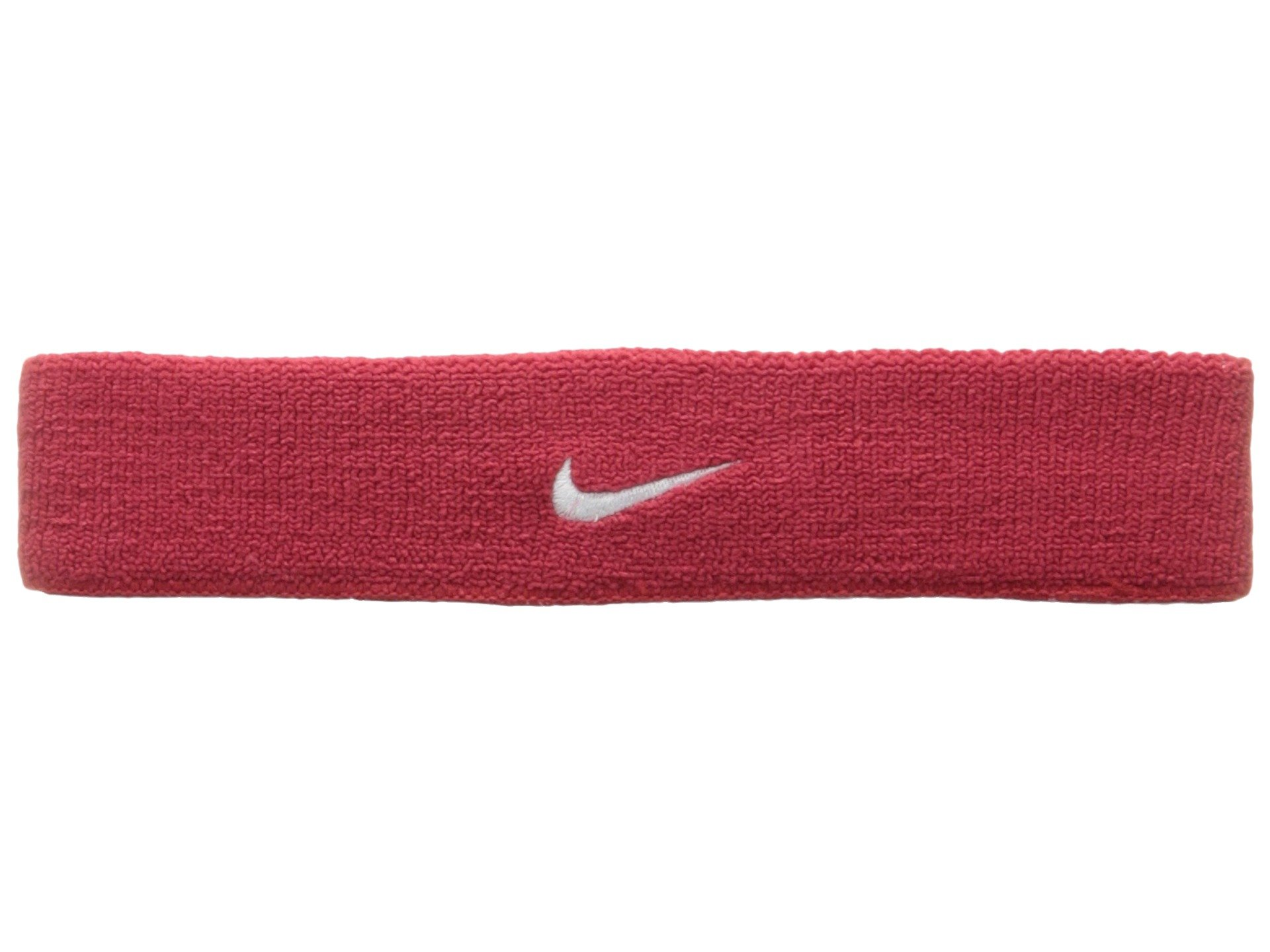 Nike Dri-Fit Home & Away Headband (One Size Fits Most, Varsity Red/White) by Nike