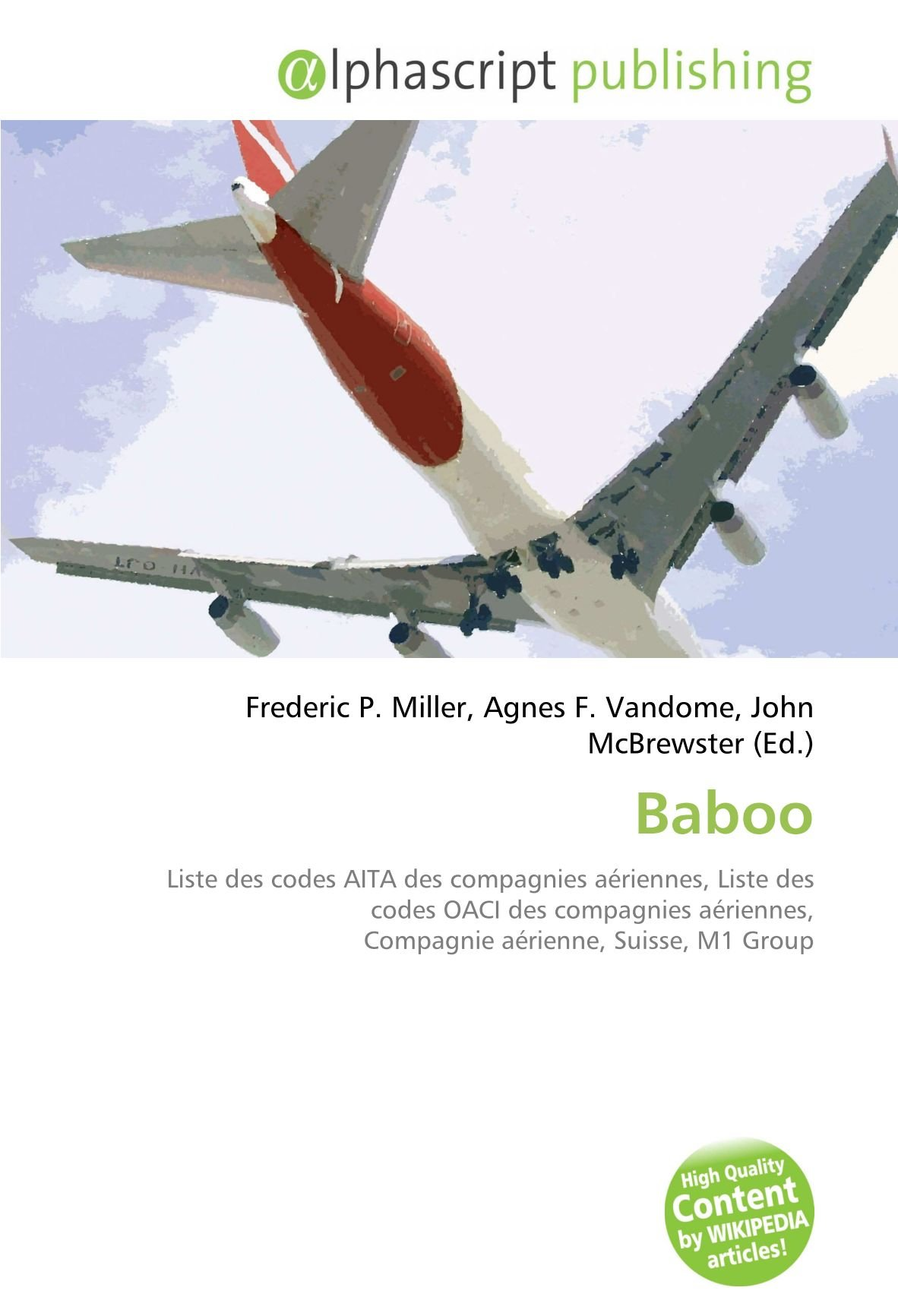 Amazon.fr   Baboo Liste des codes AITA des compagnies aériennes ...