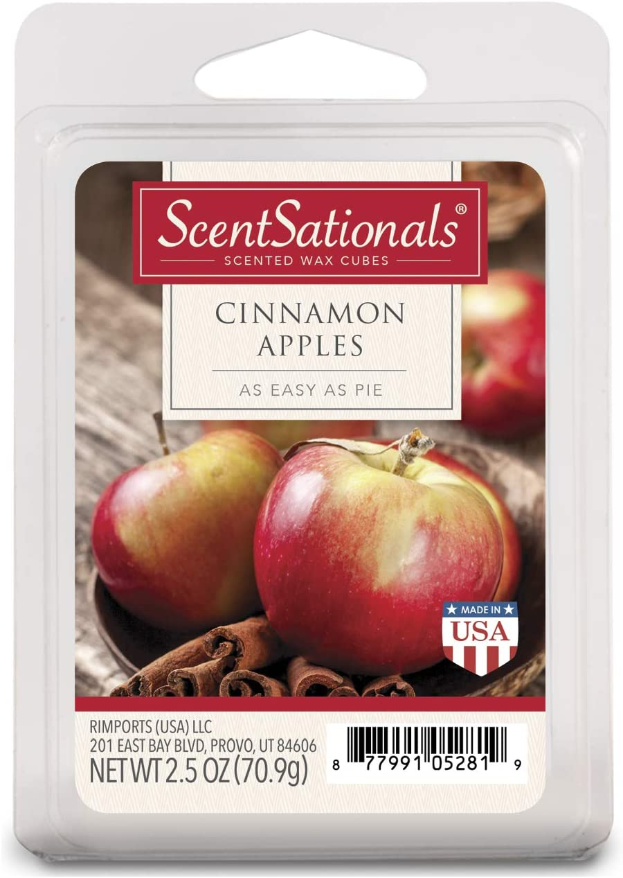ScentSationals Cinnamon Apples Wax Cubes