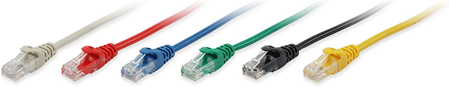 Equip 625423 - Cable de Red (0,25 m, Cat6, U/UTP (UTP), RJ-45, RJ-45, Rojo)