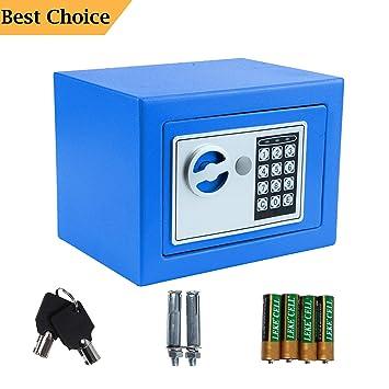 Amazon.com: Caja de seguridad electrónica digital a prueba ...