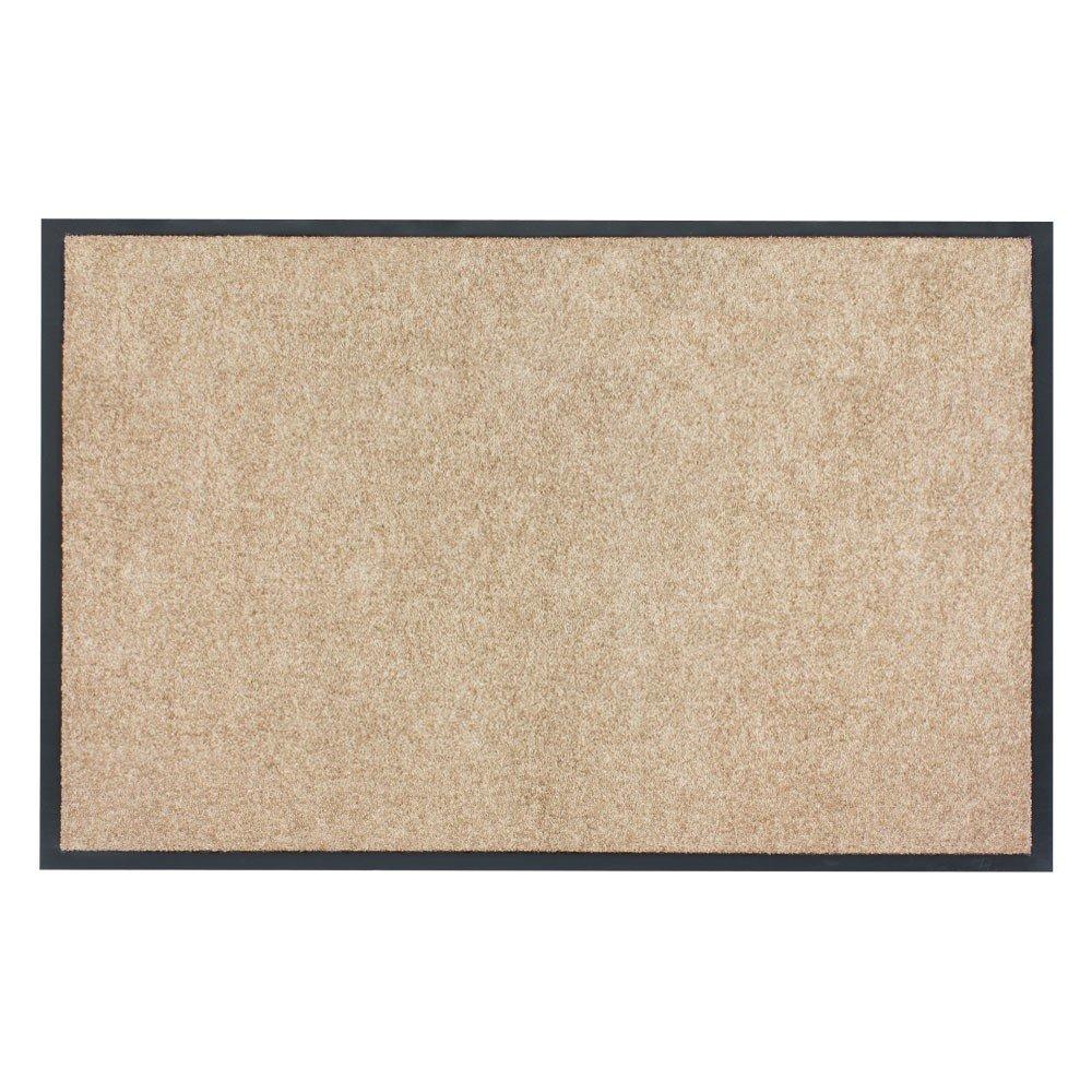 X-Tra Clean Schmutzfangmatte Fußmatte Schmutzmatte Schmutzfang beige, Größe ca. 120 x 180 cm