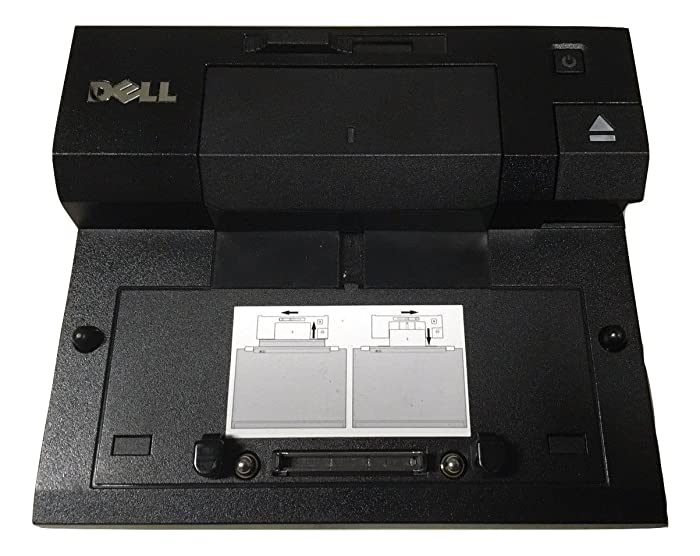 Dell E-Port Replicator PR03X with USB 3.0 and 240-Watt Power Adapter
