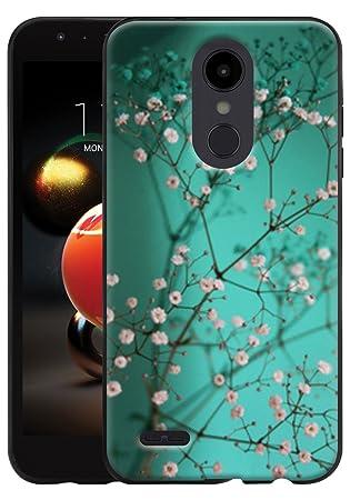 CMID Funda LG K9, Funda LG K8 (2018), Slim Gel TPU Caucho Silicona Bumper Carcasa Flexible Goma Protector Case Cover para LG K9 / LG K8 (2018) (A-01)