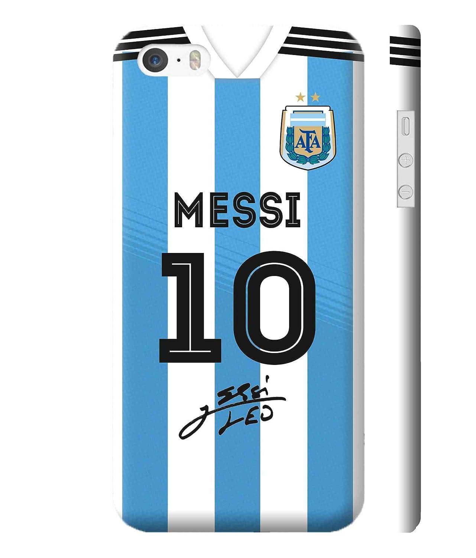 big sale c8083 25e90 Print Vale Argentina Home Messi Jersey 10 FIFA: Amazon.in ...