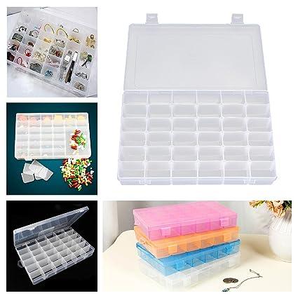 Amazoncom Kalevel Plastic Jewelry Organizer 36 Grid Organizer