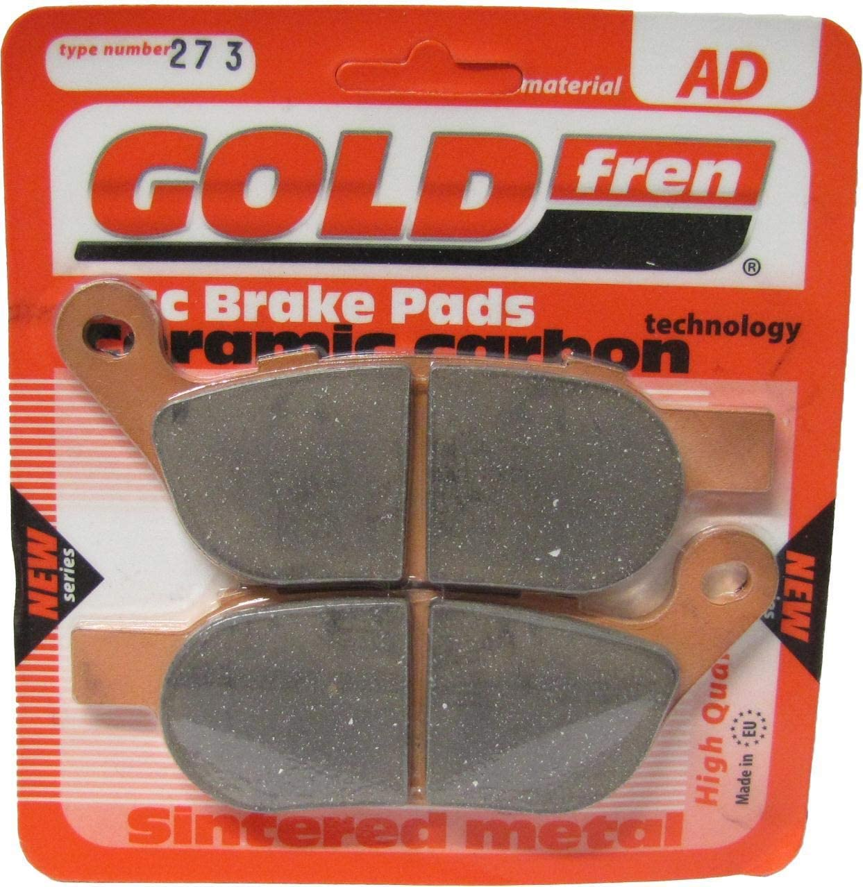 H//Davidson FLSTC 1584 Heritage Softail Classic Brake Disc Pads R R//H 2008-2010