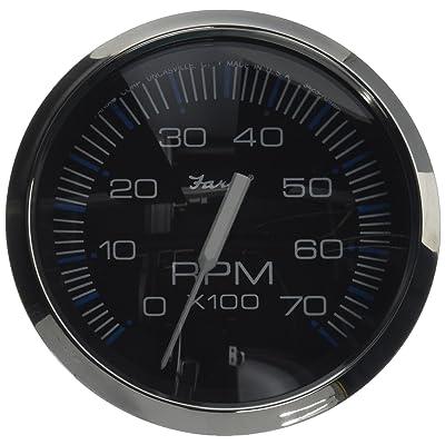 Faria 33718 Chesapeake Black 7000 rpm Tachometer: Automotive