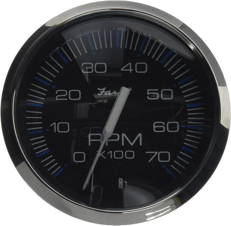B0000BWU6Z Faria Chesapeake SS Instruments - Tachometer (7000 rpm) 71mBheMiWJL