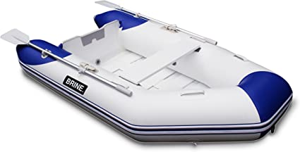 Amazon.com: Salmuera Marine inflable barco enrollar 8 pies ...