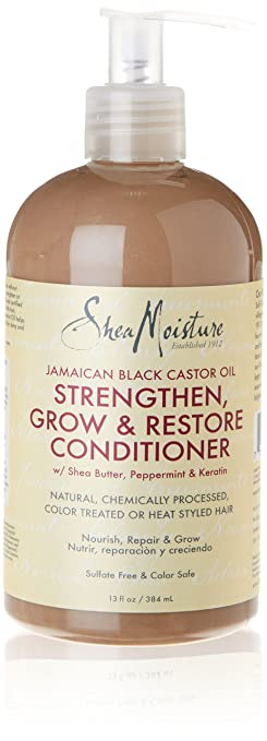 SheaMoisture Jamaican Black Castor Oil Conditioner, 13 Ounce
