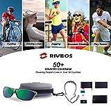 RIVBOS Polarized Sports Sunglasses Driving Sun