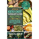 AFTER 50 KETO DIET WEIGHTLOSS RECIPES: A Complete Keto Guide on how to Loss 20 Pounds Daily with 100+ Recipes for People Over