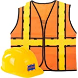 Tigerdoe Construction Costume - Construction Hat and Costume Vest - Dress Up Accessories (Construction Hat and Construction Vest)