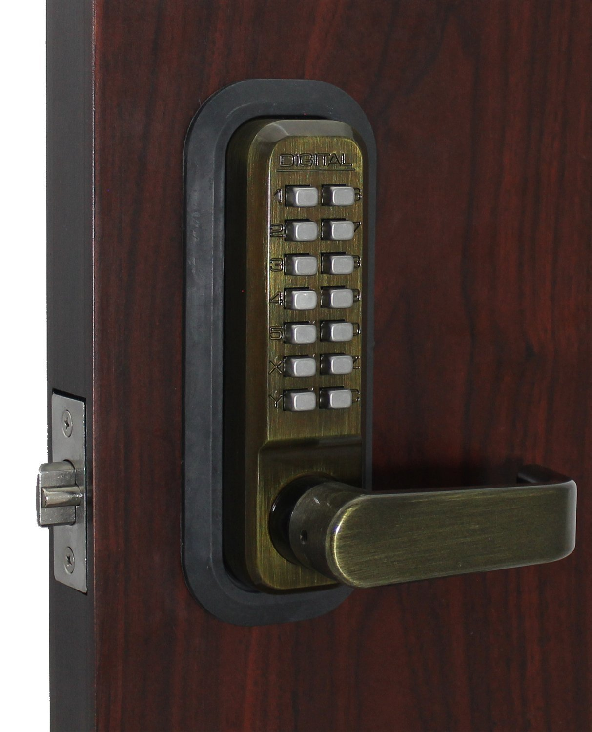 2835AB Mechanical, Keyless Lever Lock by Lockey USA