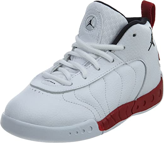 909418-120 TODDLER//BABY//LITTLE KID JORDAN JUMPMAN PRO BT SHOE!WHITE//BLACK RED