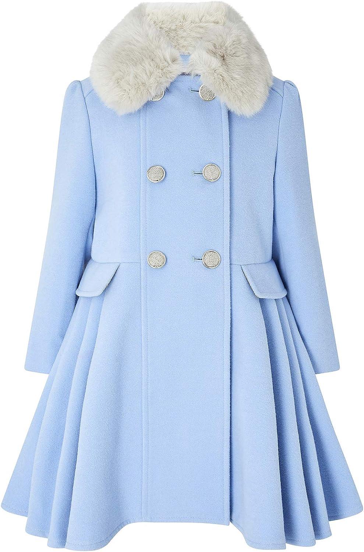 Monsoon Kids Girls Aurora Children's Coat Daywear Coats